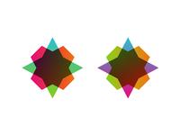 Star logo design symbol creative colorful logo design logo design logo designer typographic brand identity branding custom made custom star stars shine magic light space twinkle sparkle flash