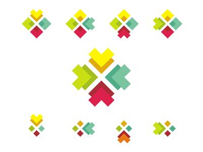 Logo design sub branding system by alex tass