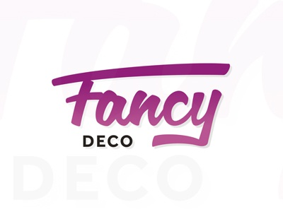 Fancy Deco.com Home Decor Interior Design Creative Ideas Logo Design