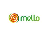 Mello, melon juice logo design