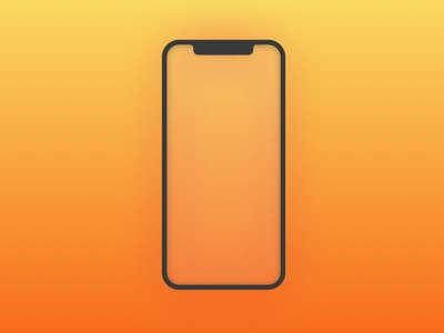 iPhone fun bezel iphonex mockup iphone