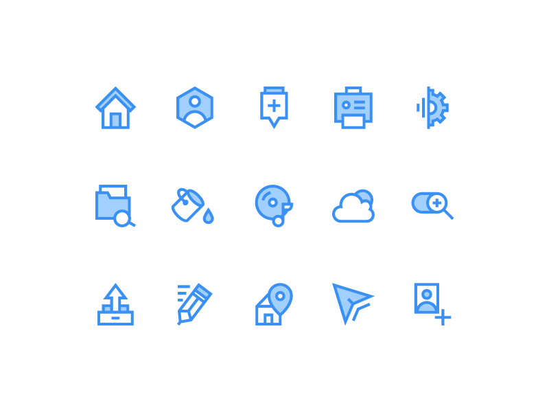 Icons For Web (Freebie) download free icons web freebie flat psd ai