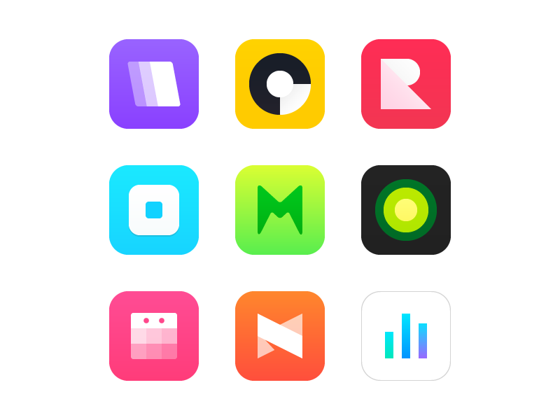 Fresh App Icons (Freebie) free ai freebie flat icon app
