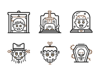 Death Icons (Freebie)