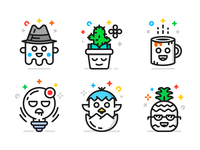 Character Icons (Freebie)