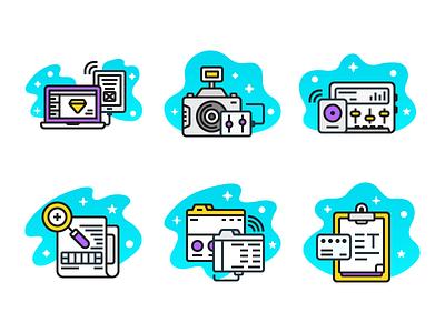 Whatwedo Icons (Freebie) branding web ui sound design photography research ai freebie flat icon
