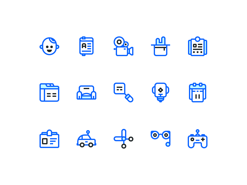 Just Ui Icons (Freebie) ai freebie download free flat line icons