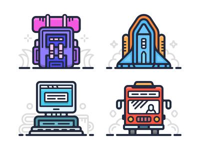Web Illustrations