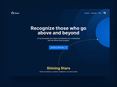 GitHub Stars stars github ux codegram user interface ui design ui