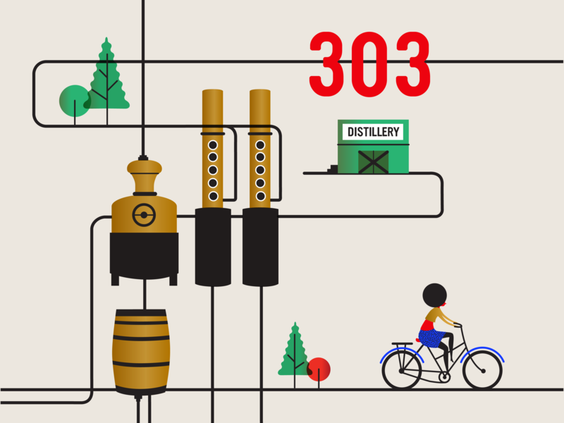 Spoke Lore 303 2x web forest book cover design vector animation bike ux ui design icon illustrator app branding illustration