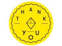 Thank You Sweet Beyond Badge