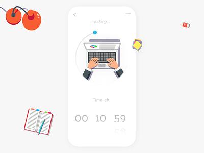 Daily UI #014-  Countdown Timer countdowntimer countdown timer uiux dailyuichallenge design uxui colors ux design art ui design app dailyui 014