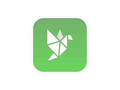 Daily UI #005-  App icon logodesign logotype origami appicons appicon app 005 uiux dailyuichallenge design uxui colors ux design art ui design app dailyui