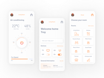Daily UI #021 - Home Monitoring Dashboard daily 100 challenge uiux dailyuichallenge design colors ux design art ui design app dailyui home monitoring home monitoring dashboard 021