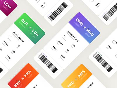 Daily UI #024 - Boarding Pass design app ui dailyui wallet trip travel ticket pass plane destination design dailyui24 app airplane airline boardingpass boarding pass 024