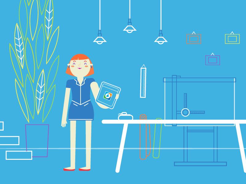 Samsung_ architect studio vector illustration charactersdesign characters illustrator