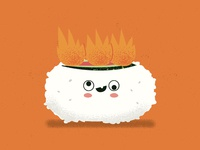 Sushi On fire