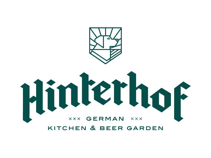 Hinterhof Identity V2 By Rusty Design Co On Dribbble