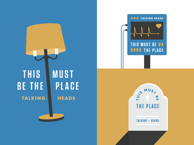 This Must Be the Place stop making sense naive melody icon illustration badge talking heads