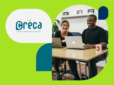 Créca | Popular Education Center case study colorful school education learning banner webflow website