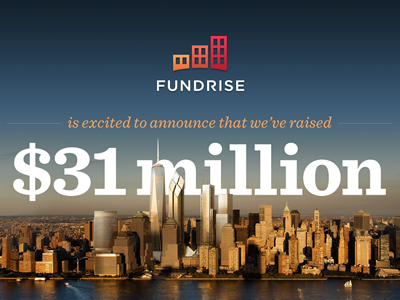 Fundrise Series A Announcement Infographic crowdfunding real estate investment sentinel whitney red green navy new york world trade center