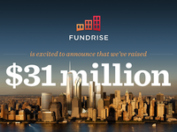 Fundrise Series A Announcement Infographic