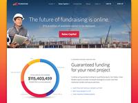 Raise Capital Landing Page