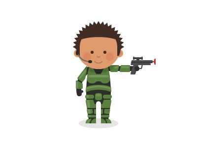Happy Halo Day halo 4 character illustration
