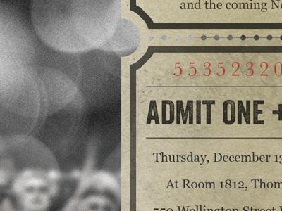 Themed invite