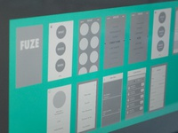Fuze App Wireframes