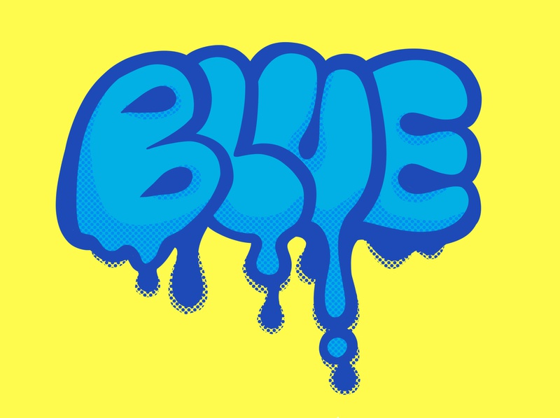 Blue venomfencer design illustration blue graffiti tag graffiti art graffiti digital graffiti handletter hand letter hand lettering handlettering