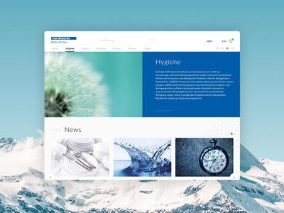 Swiss-Based Manufacturer Website Redesign