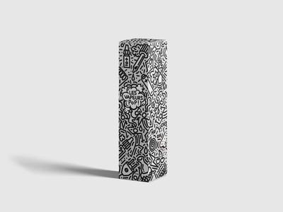Les vapeurs pop | Curieux e liquide | design & packaging