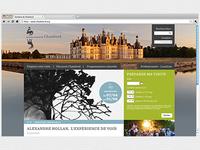 Site Internet du domaine de Chambord