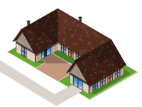 Farm house/ Isometric