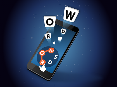 Words Of Wonders! app android illuatration mobile app design crossword game ios mobile vector