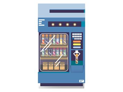 Vending Machine chemistry tube flat  design vending machine illustrator 2d design illustration vector