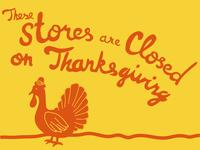 Stores Closed