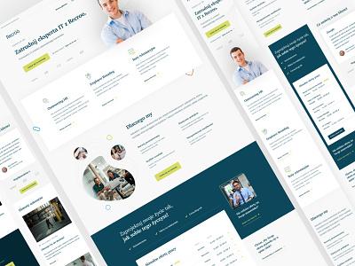 HR Website for sale. web design web webdesign hr agency hr website hr webflow wordpress development