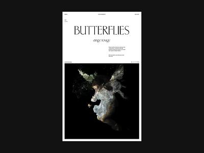 Type & Layout Exploration. uidesign branding digital design debut ui visual design typography digital design