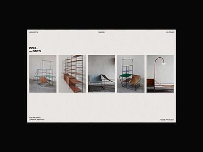HOUSE P76 webdesign web branding uidesign digital design visual design ui typography digital design