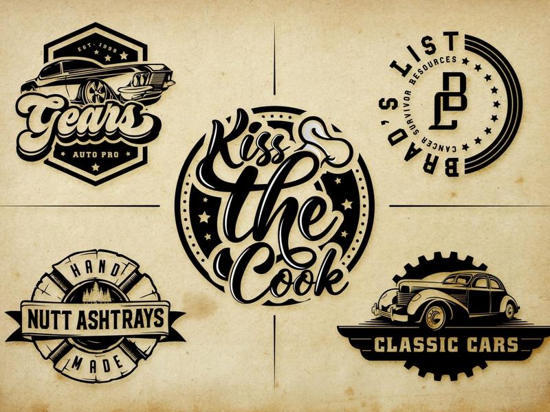design retro vintage logo minimalist modern vector creative  design famous signature logos illustration vector handwritten logo signature logo fonts modern logo minimalist modern design outstanding logo