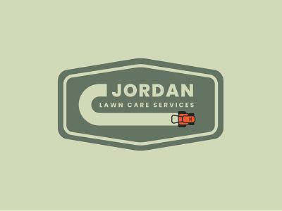 Lawn Logo small business logo lawncare type branding logo vector design simple icon illustration