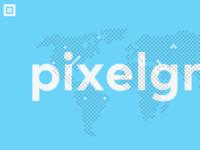 Pixel Grid - Landing Page