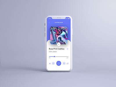 Music Player App Design iosdesign musicplayer appdesign music app ux graphic design