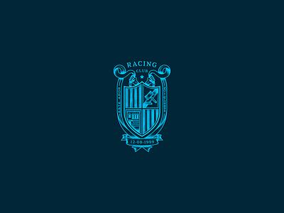 La Batalla de Nogoyá shield team logo sports logo sport club racing soccer shields shield logo vector logotype logos brand identity brand design logo design brand logo branding design