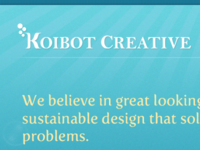 Redesigning the Koibot Creative site