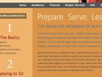 new design for graduate site