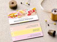 Fashion Designers Business Card