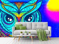 Wallpaper for TV Room